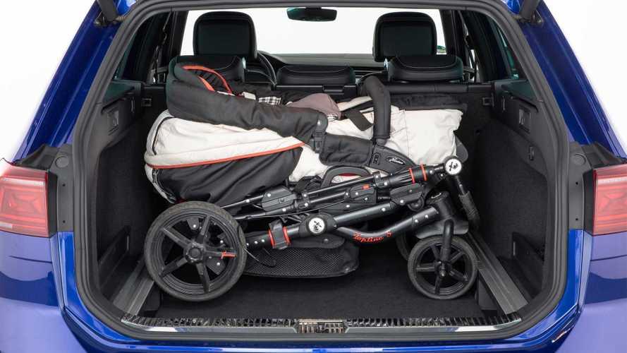 Autos, in die der Kinderwagen passt: Kleinbusse, Kombis und Vans vorne