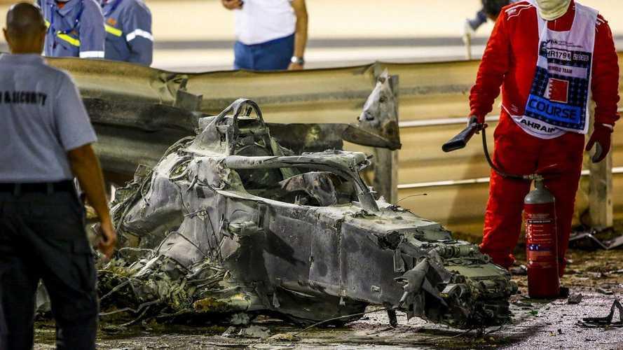 Vídeo: así salvó su vida Grosjean entre las llamas en Bahrein