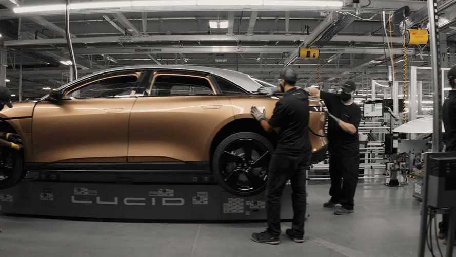 Lucid Motors prometeu uma fábrica de carros elétricos à Arábia Saudita