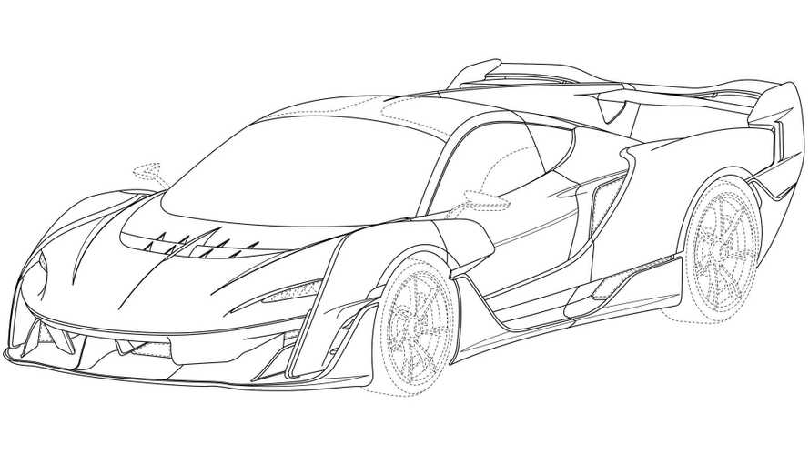 McLaren Ultimate Series Design Trademark