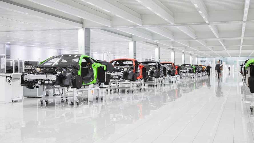 McLaren pone a la venta su sede de Woking