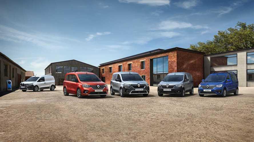 Renault Kangoo Van ed Express Van ecco i prezzi per l'Italia