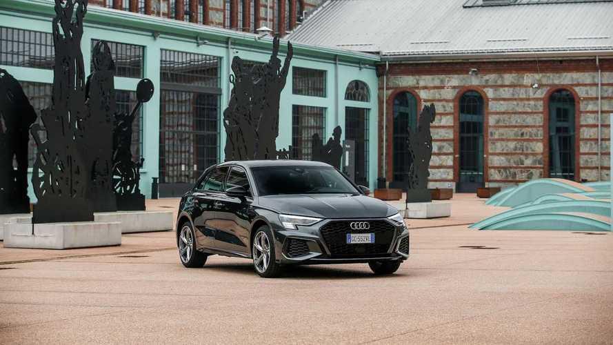 Nuova Audi A3 Sportback TFSI e, la prova su strada