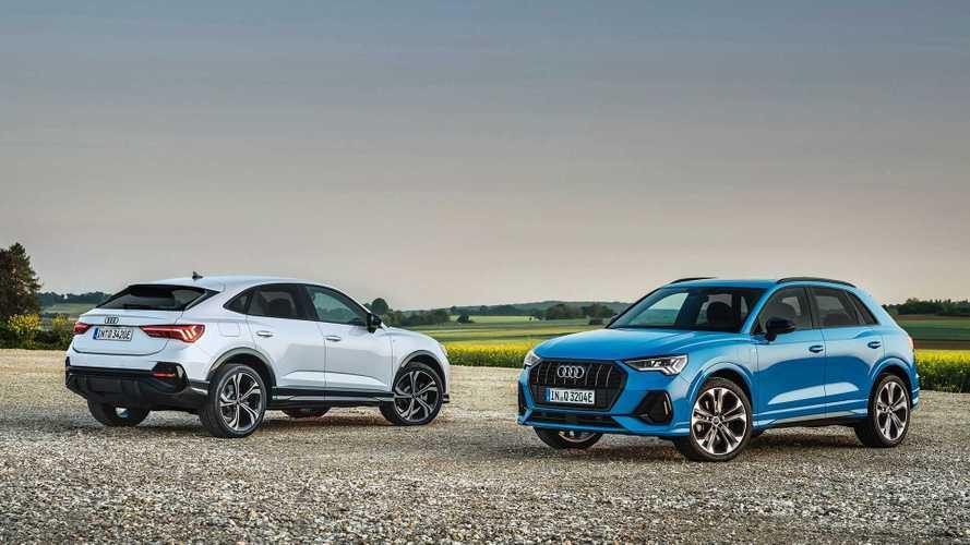 Audi впервые подключила к розетке Q3 и Q3 Sportback