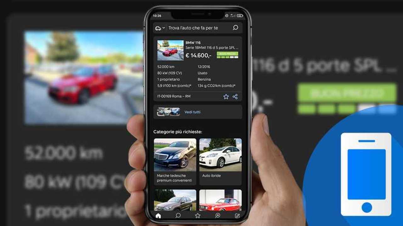 copertina Comprare l'auto usata con lo smartphone: la prova dell'app AutoScout24