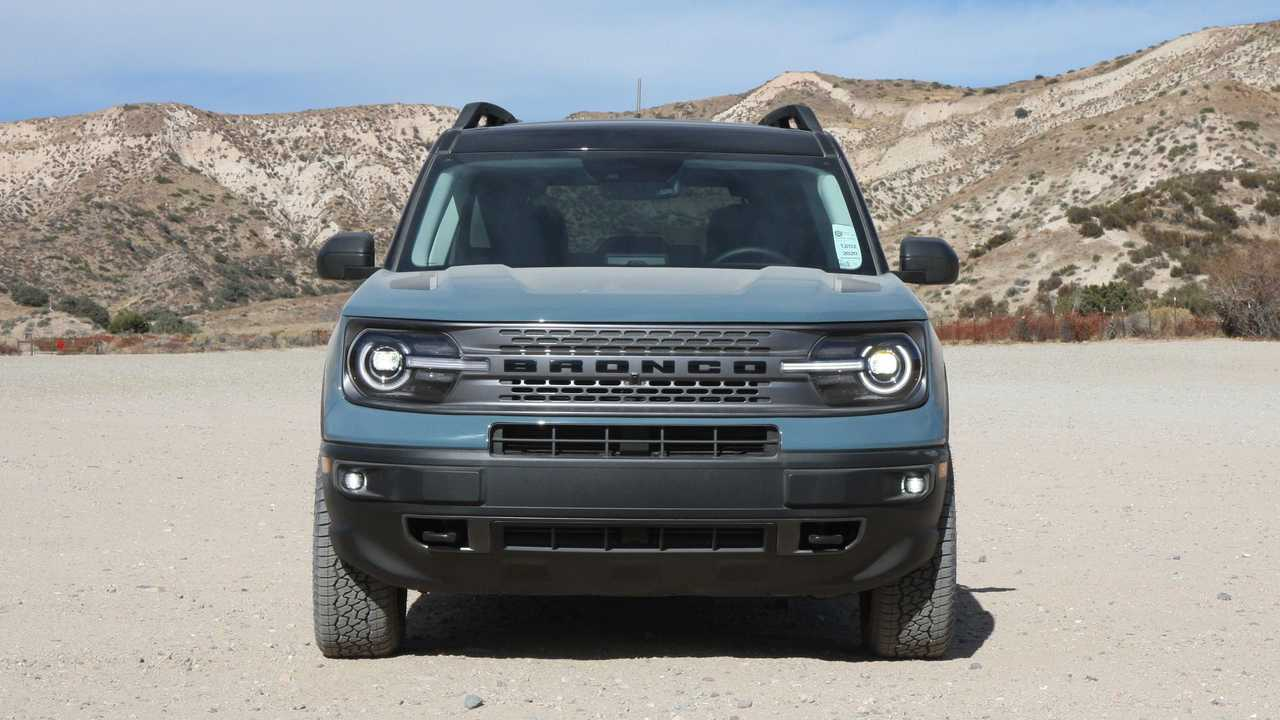 2021 Ford Bronco Sport Exterior Front View