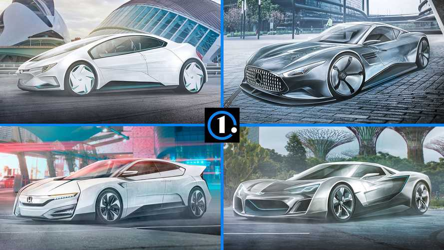 The Year Is 2050 And This Is What Your Favorite Car Might Look Like