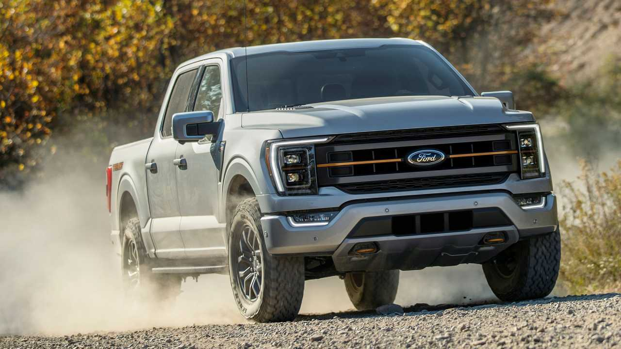 2021 Ford F-150 Tremor Front