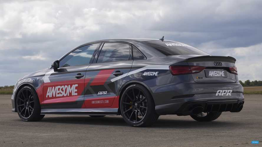 Is 716 bhp enough for this Audi RS3 to beat a Porsche 911 Turbo S?