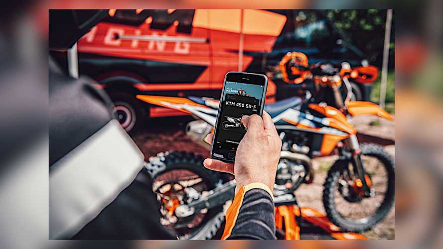 KTM Now Offers Connectivity Unit And MyKTM App For SX-F Line