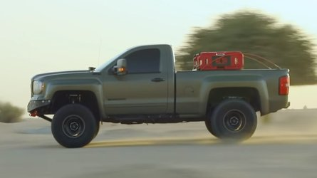 GMC Sierra Customized For Off-Road Is One Mean Truck