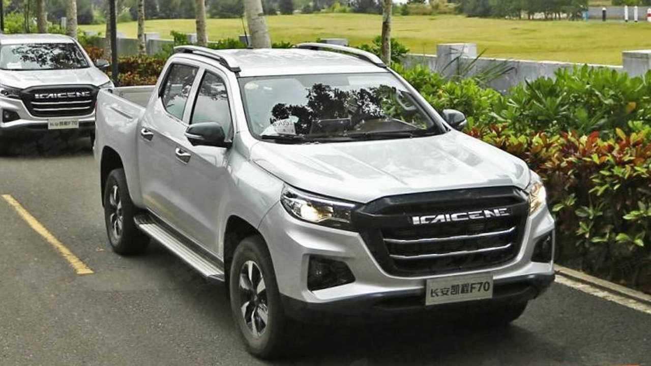 Peugeot Pickup/Kaicheng F70 - Novas imagens
