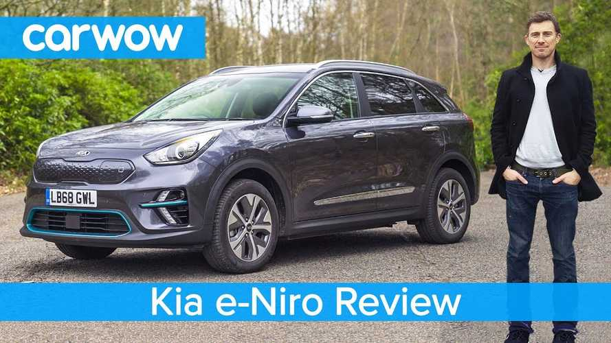 Kia Niro EV Test Drive Review By Carwow: Video