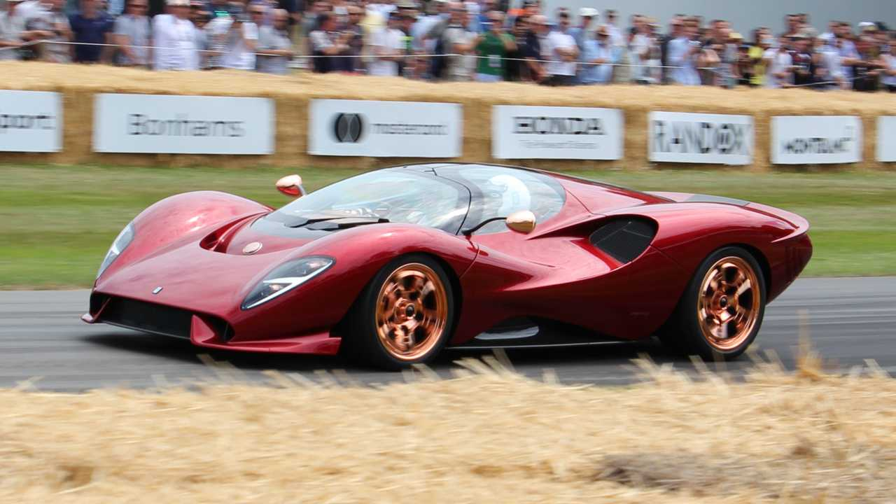 De Tomaso P72 at the 2019 Goodwood Festival of Speed