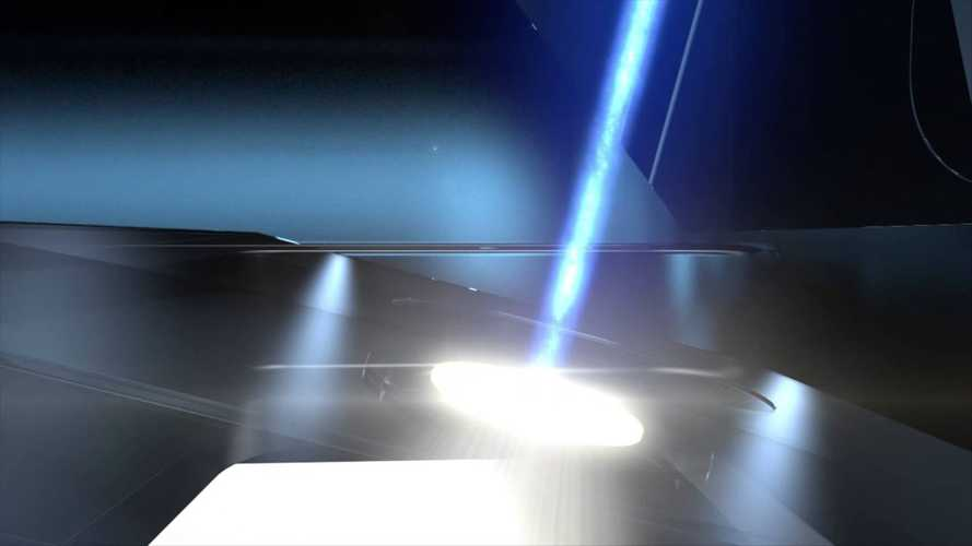 BMW i8 Laser Light Animation - Video