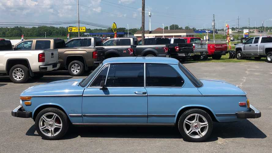 This Pastellblau 1976 BMW 2002 Is Ready For Auction