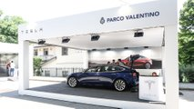 Tesla Model 3 a Parco Valentino 2019
