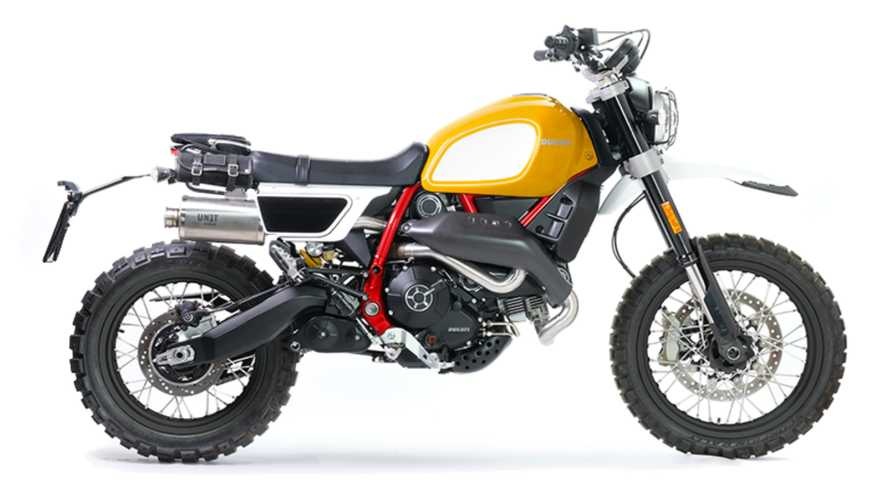 Customize Your Ducati Scrambler With This Very Cool Kit
