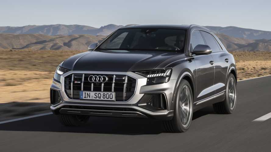 Audi SQ8 debuts with blazing 429-bhp turbodiesel mild hybrid