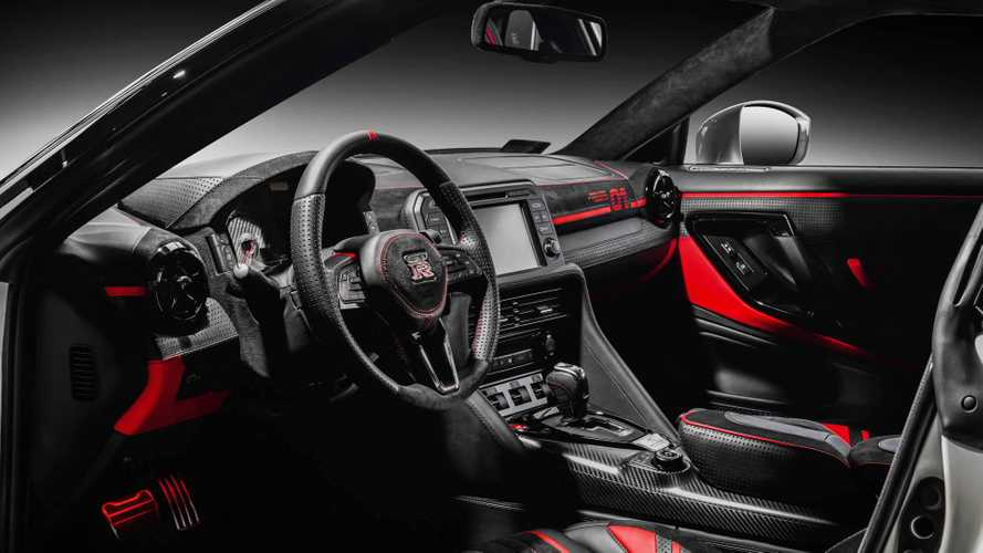 Nissan GT-R interior by Carlex Design