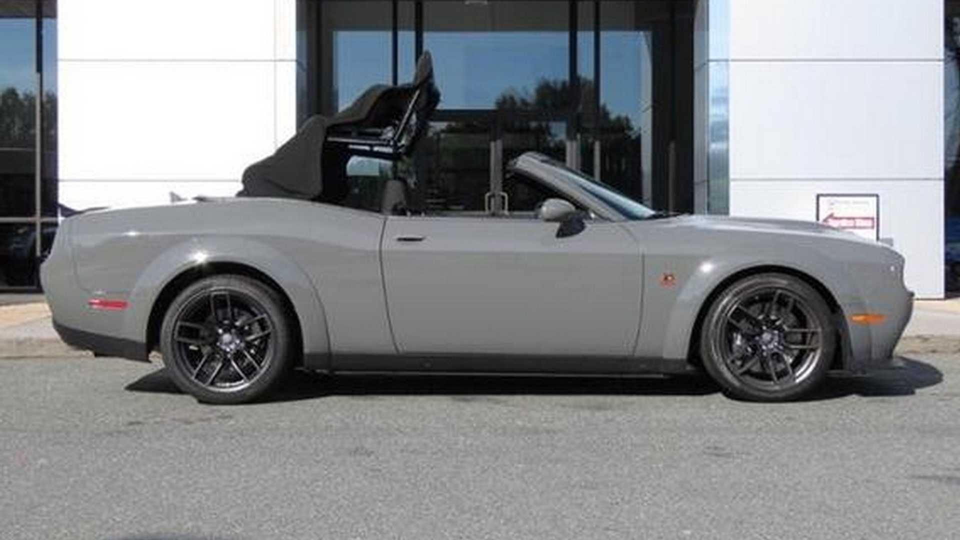 Dodge Challenger R/T Scat Pack Widebody Convertible Can Be Yours