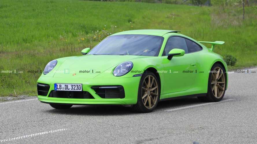 Interesting Porsche 911 prototype caught with no camo