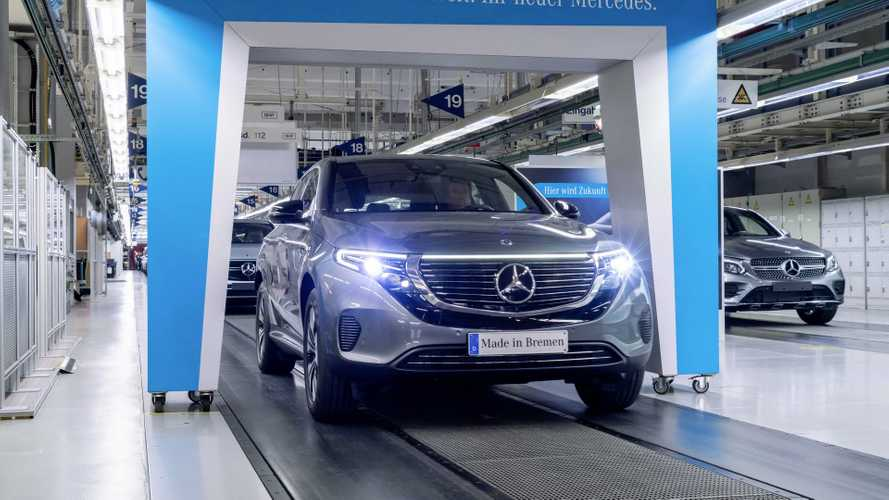 Mercedes-Benz lance la production de l'EQC