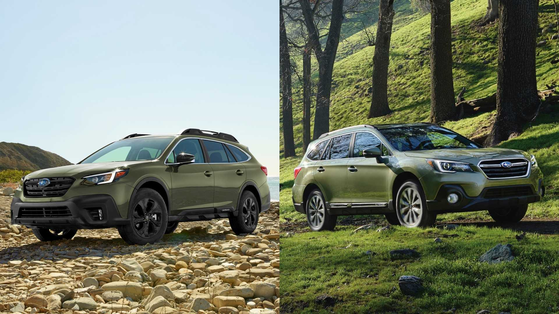 2020 Subaru Outback See The Changes Side By Side