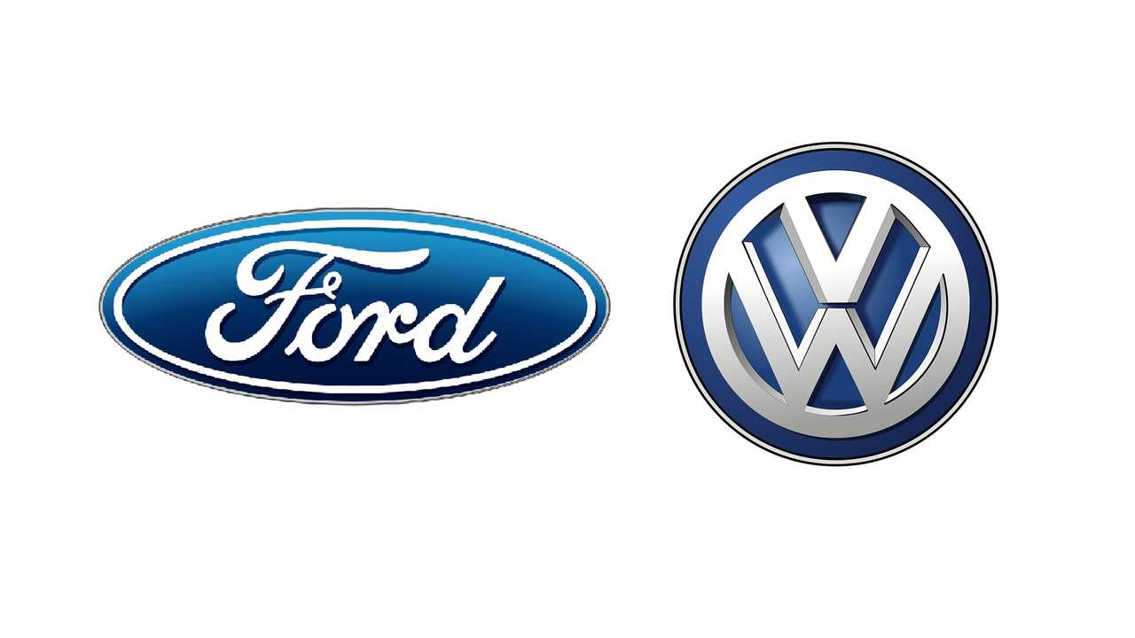 Ford and VW logos