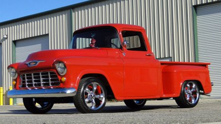 Low mileage 1955 chevy 3100 represents turn in pickup market