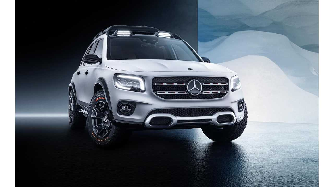 Mercedes Concept GLB Might Become An EV SUV