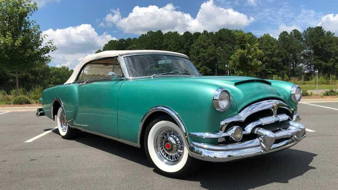 1953 Packard Caribbean Convertible Is A Work Of Art