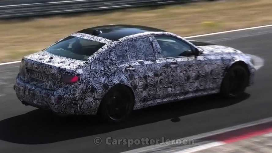 2021 BMW M3 caught at the 'Ring, manual gearbox reconfirmed by M Boss