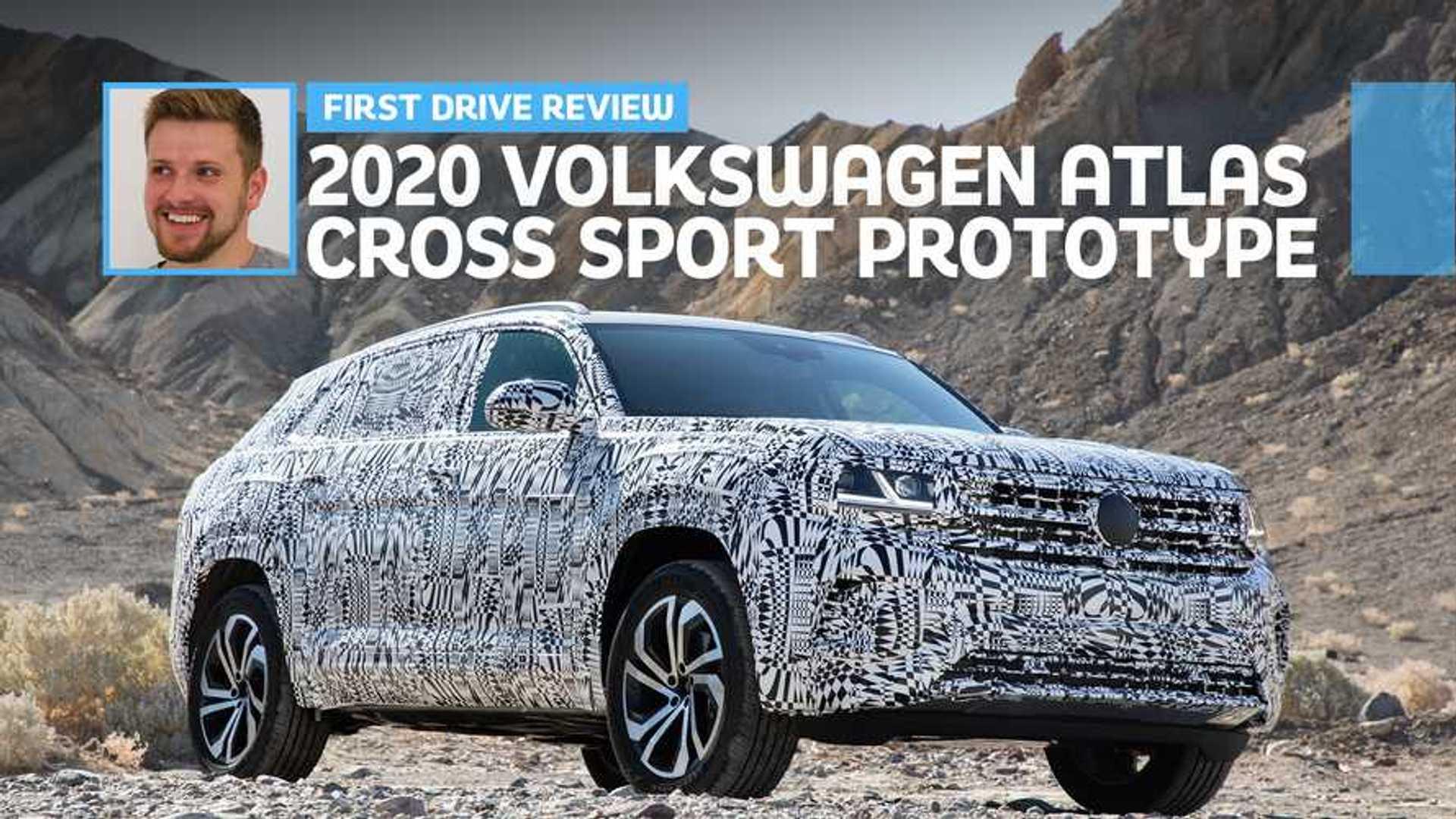 2020 VW Atlas Cross Sport, Changes, Price >> 2020 Vw Atlas Cross Sport Prototype First Drive Coupe Du Jour