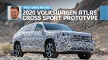2019 vw atlas cross sport prototype first drive