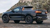 BMW X7 M50d pickup truck rendering