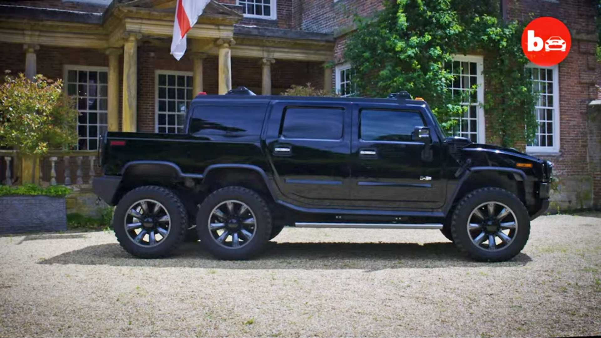 Six-Wheeled Hummer H11 Laughs In The Face Of Conventional SUVs | long hummer car price