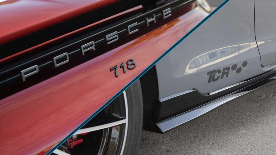 Comparamos el Porsche 718 Boxster T frente al Volkswagen Golf GTI TCR