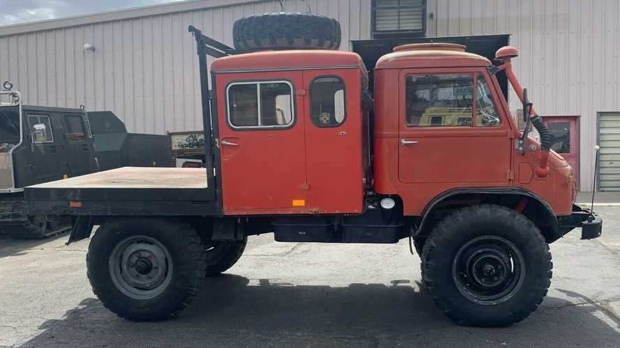 All-Terrain Benz: 1965 Mercedes-Benz Unimog 404