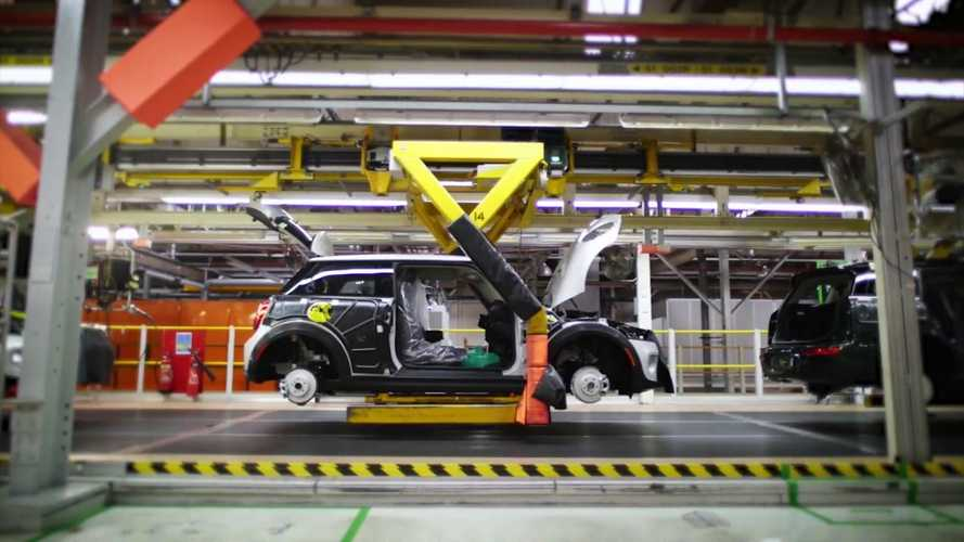 Quick Look At The Production Line For The All-Electric MINI: Video