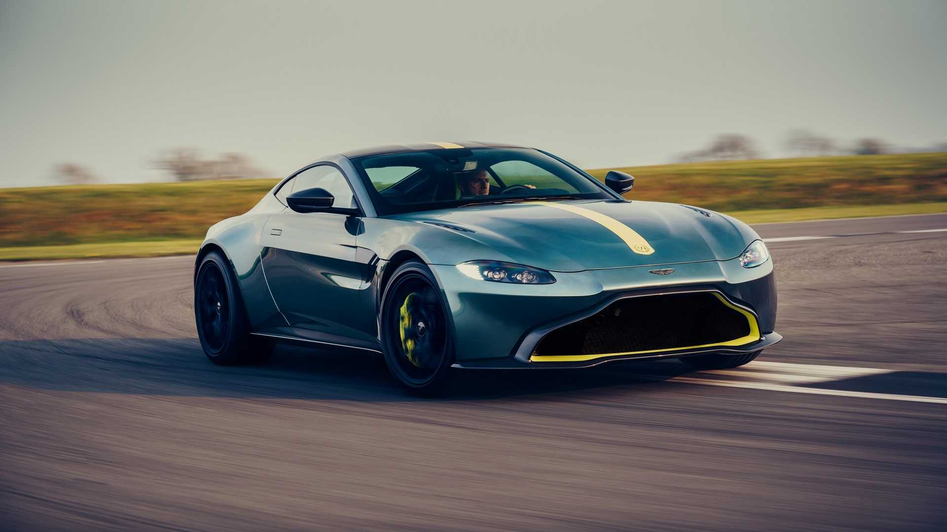 Aston Martin Vantage AMR Loses Weight, Rocks A Seven-Speed ... | aston martin vantage manual