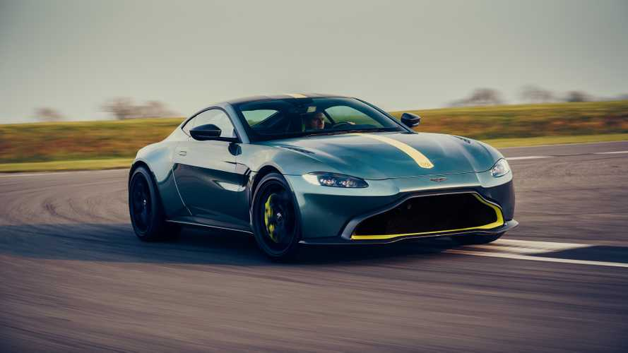 Aston Martin Vantage AMR Loses Weight, Rocks A Seven-Speed Manual