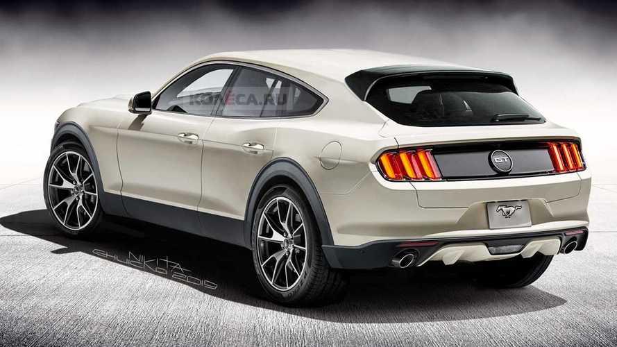Ford Mustang SUV - Projeção