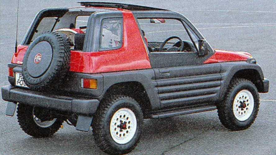 Unuttuğumuz Konseptler: 1989 Toyota RAV Four