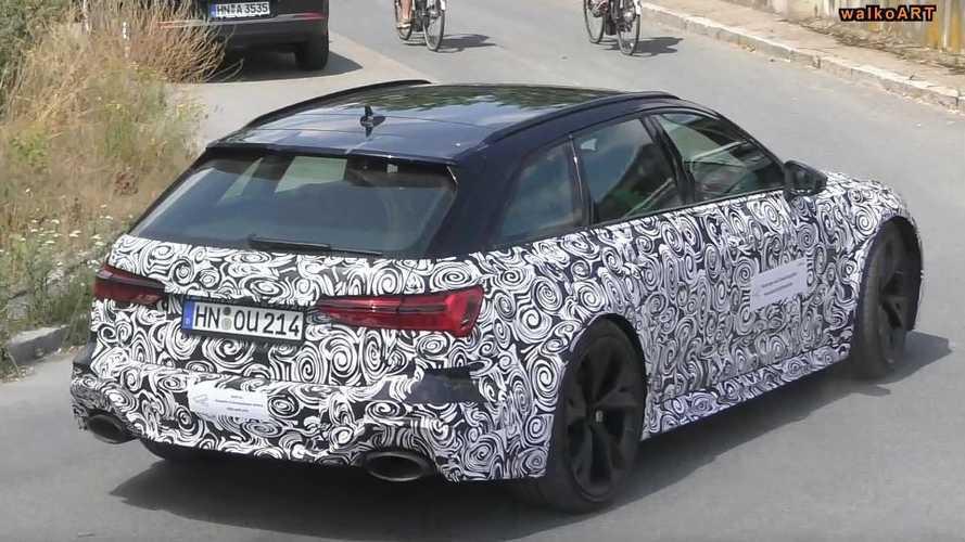 VIDÉO - L'Audi RS 6 Avant se prépare en coulisses