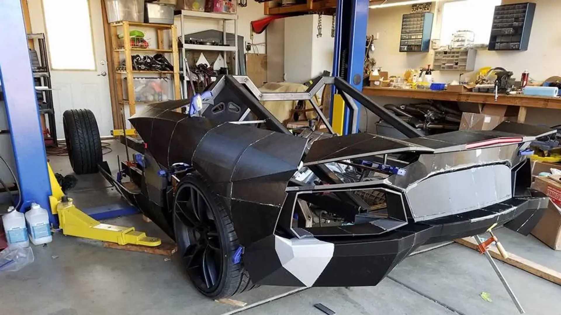 Lamborghini Aventador z 3D tlačiarne: Unikátny projekt otca so synom