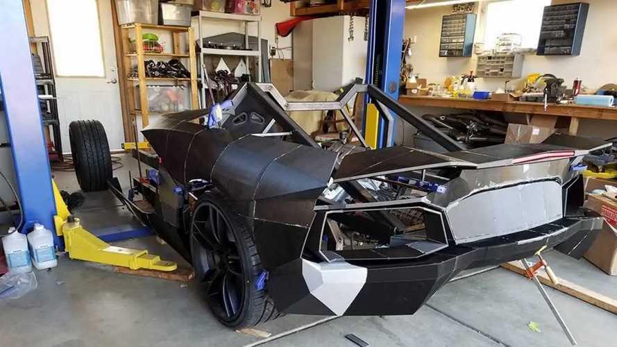 3D-printed Lamborghini Aventador