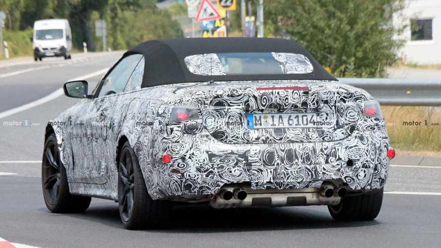 BMW M4 Cabrio 2020 (fotos espía)
