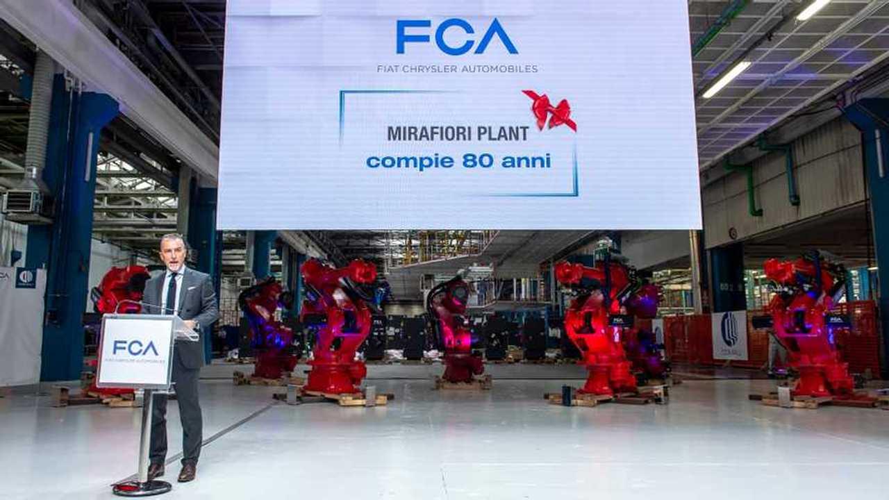 Fiat 500 Elettrica at Mirafiori Plant
