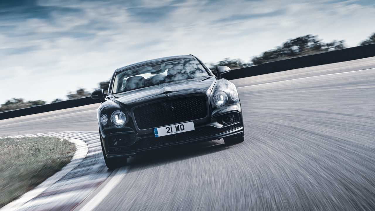 2020 Bentley Continental Flying Spur Teasers